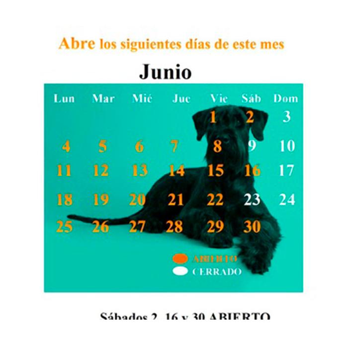 CALENDARIO JUNIO 18
